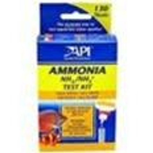 Aquarium Pharm Test Kit Ammonia for Freshwater and Saltwater