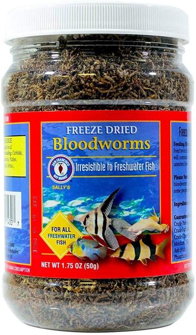 Bay Brand Bloodworms Freeze Dried 1.75 Oz.