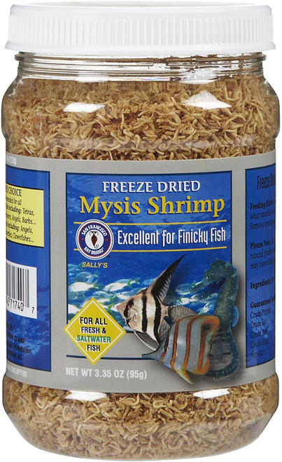 Bay Brand Mysis Shrimp Freeze Dried 3.35 Oz.