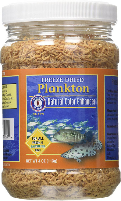Bay Brand Plankton Freeze Dried 4 Oz.