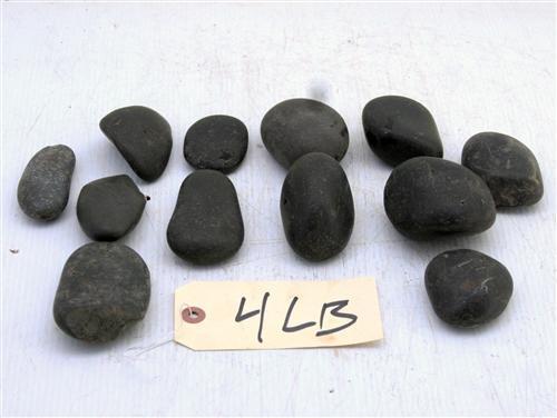 """Black River Rock 2-3"""", per Pound"""