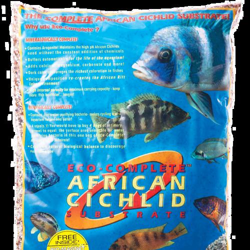Caribsea Eco-Complete Cichlid Black 20lb