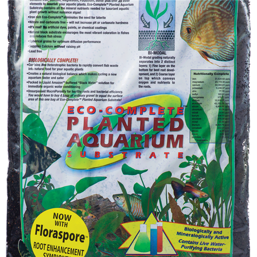 Caribsea Eco-Complete Planted Aquarium Black 20lb