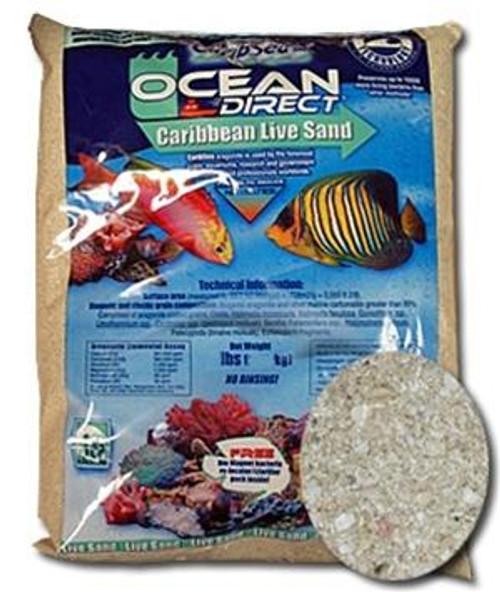 Caribsea Ocean Direct Live Sand 40 LB Original Grade