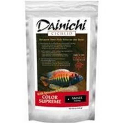 Dainichi Cichlid Color Supreme Sinking Small Pellet Food 8.8 oz