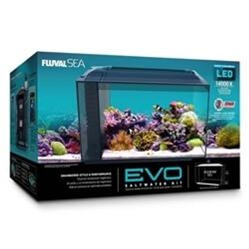 FLUVAL SEA  Evo Aquarium Kit 13.5 Gallons (NO Free Freight)