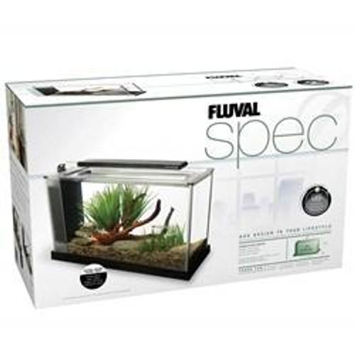 Fluval Spec V 19 L (5 US gal) - Black - Desktop Glass Aquarium