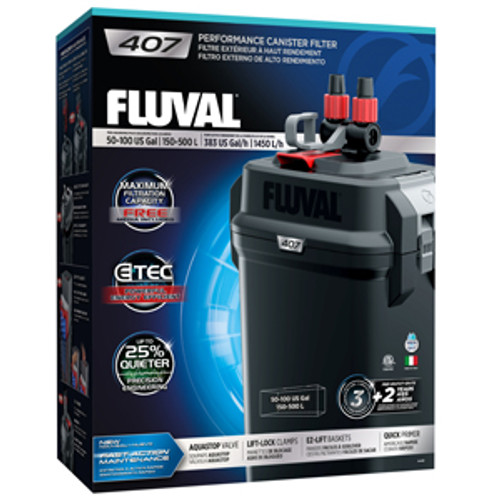 Fluval 407 filter+aquariumplants.com