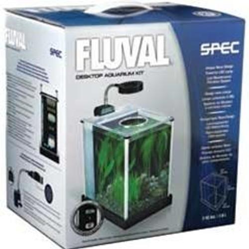 Hagen Fluval SPEC Desktop Glass Aquarium 2 US gal (7.6L)