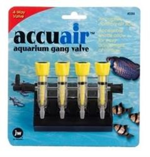 JW Accuair Gang Valve - 4 Way