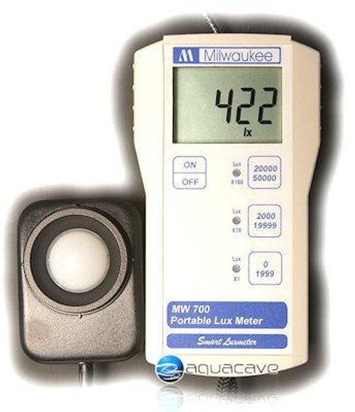 Milwaukee MW700 LUX Light Meter w/ Waterproof Probe