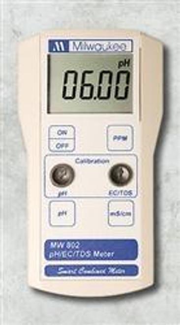 Milwaukee MW802 Smart Portable pH/EC/TDS Meter