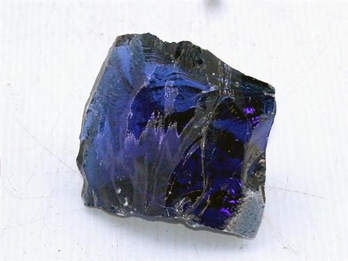 Ocean Blue Glass Rock (per Pound)