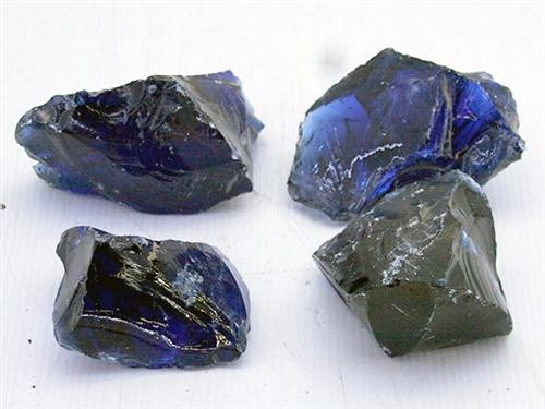 Ocean Blue Glass Rock (per Pound)