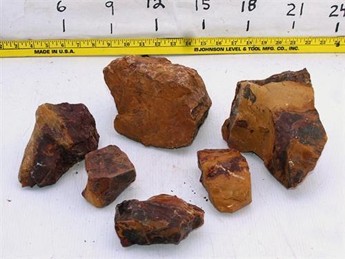Red Glass Rock (per Pound)