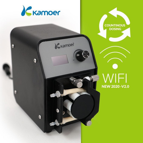 Kamoer FX-STP WiFi Continuous-Duty Peristaltic Dosing Pump-New & Improved for 2020