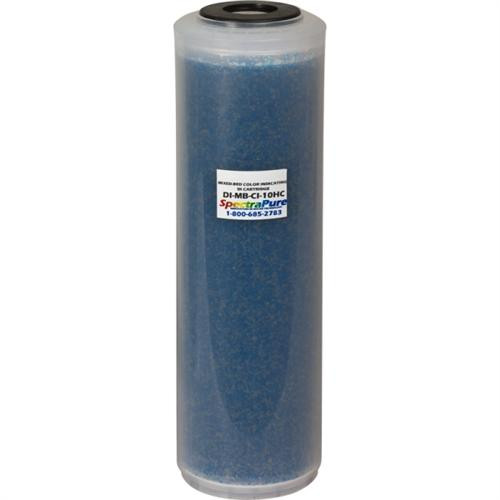 Spectrapure Mixed Bed DI - Color Indicating Super DI 10 inch