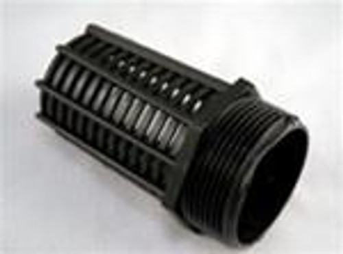 "Threaded Suction Screen 1 1/2"" Black"