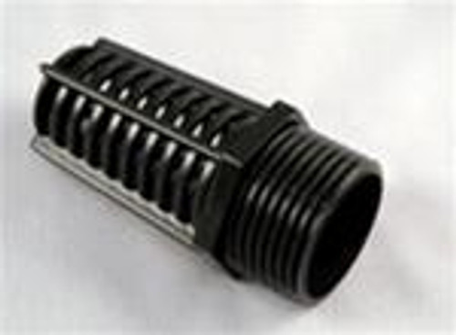 "Threaded Suction Screen 1"" Black"