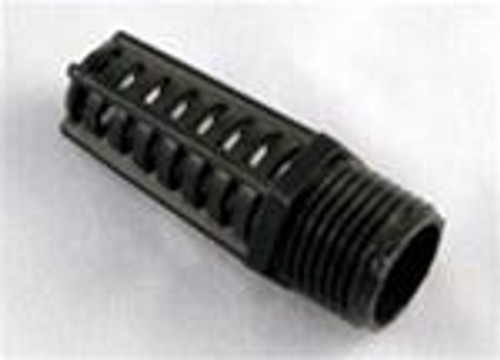 "Threaded Suction Screen 1/2"" Black"