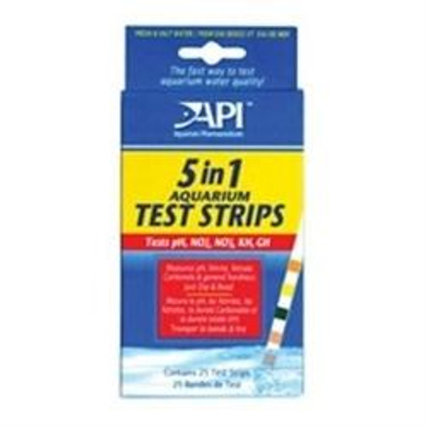 API 5 IN 1 Test Strips