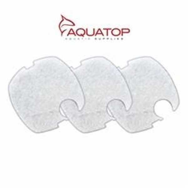 Aquatop Replacement Filter Pads for CF400-UV, 3 Pieces - Fine/White
