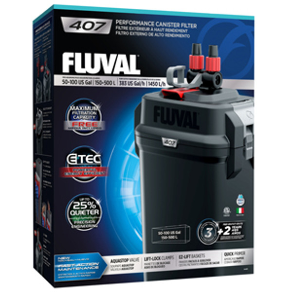 Fluval 407 filter+aquariumplants.com