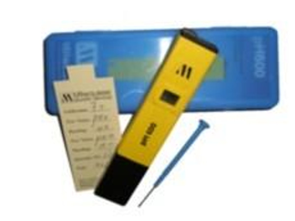 Milwaukee Instruments pH METER (Hand Held) Milwaukee pH600 (don't forget 7.01 calibration solution)
