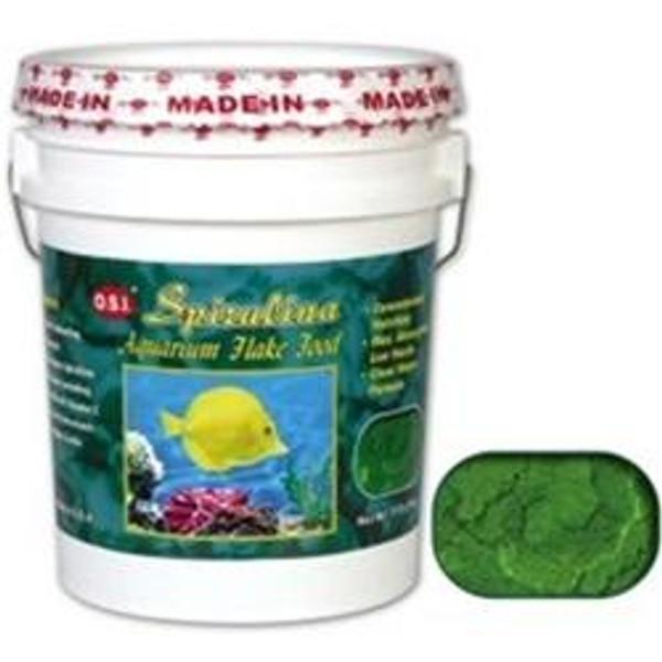 OSI Spirulina Flake Food 11 LB.
