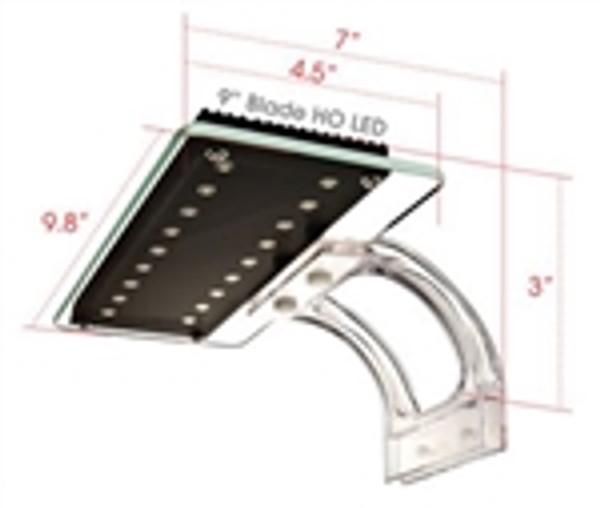 "WavePoint Blade HO LED Fixture 9"" 18 Watt 6500K"