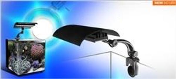 "Wavepoint Micro Sun HO Led Clamp Light 12"" 16 Watt 10000K Daylight- White"