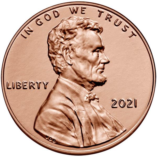 100 pennies = $1.00