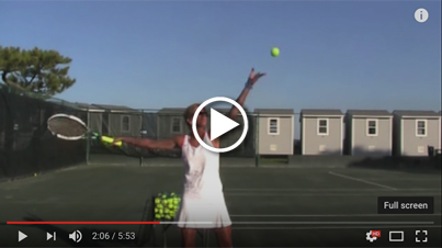 Control your toss with arm tempo