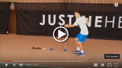 Justine Henin Academy's Forehand Development with SM