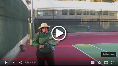Rosie Bareis Uses ServeMaster in Her Tennis Academy
