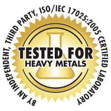 Heavy Metal Tested