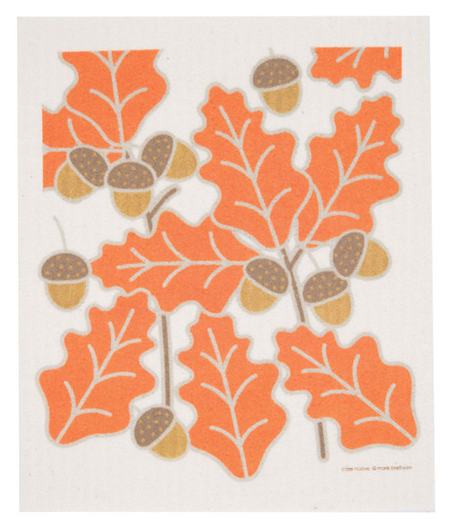 Swedish Dishcloth - Oak Leaves