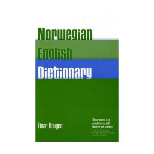 Norwegian-English Dictionary