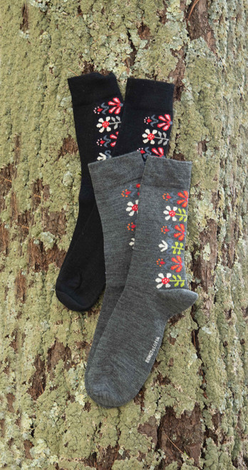 Merino Wool Socks - Monica