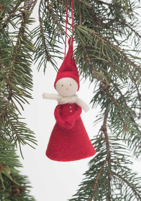 Felt Tomte Ornament