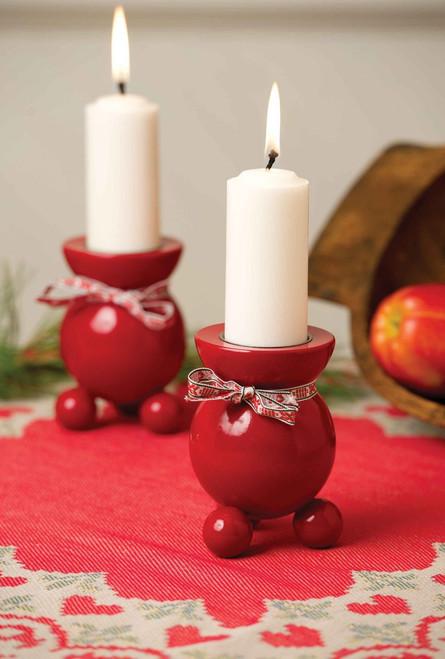 Swedish Ball Candleholders