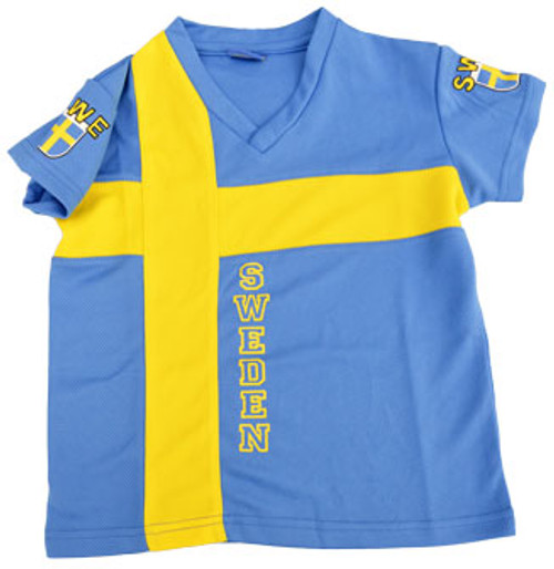 Sweden Flag Jersey