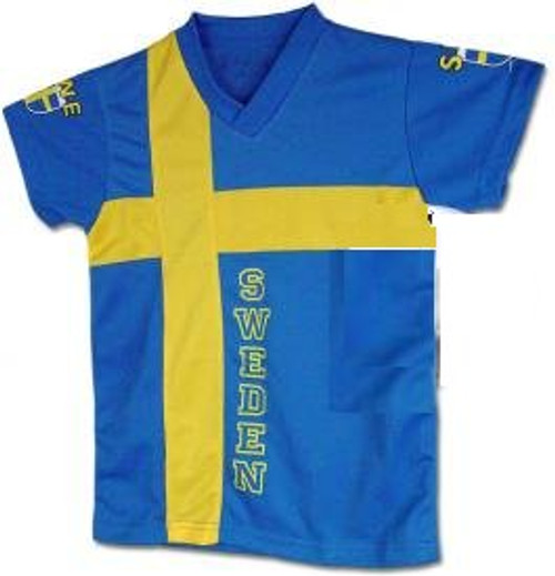 Sweden Flag Jersey Kids