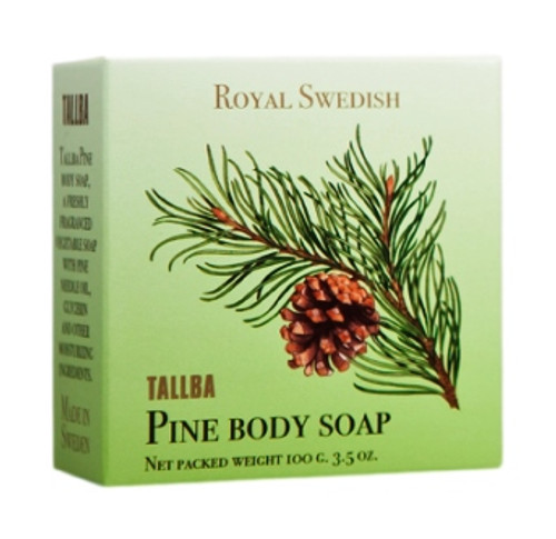 Royal Swedish Tallba Pine Body Soap