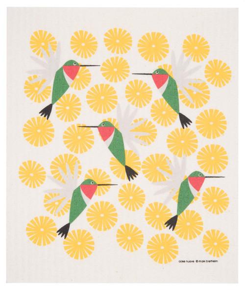 Swedish Dishcloth - Hummingbird