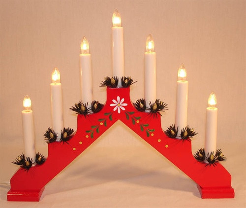 Adam 7-light Candelabra
