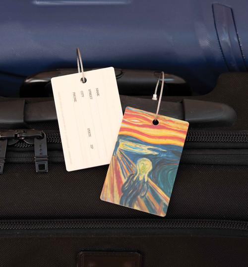 Swedish Wood Laminate Luggage Tag