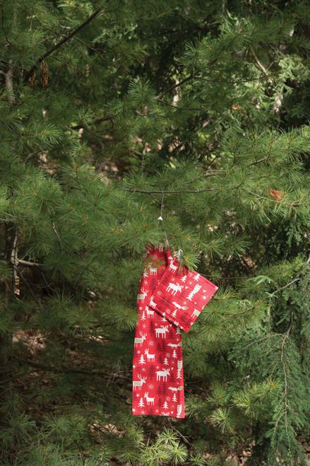 Christmas Forest Tea Towel