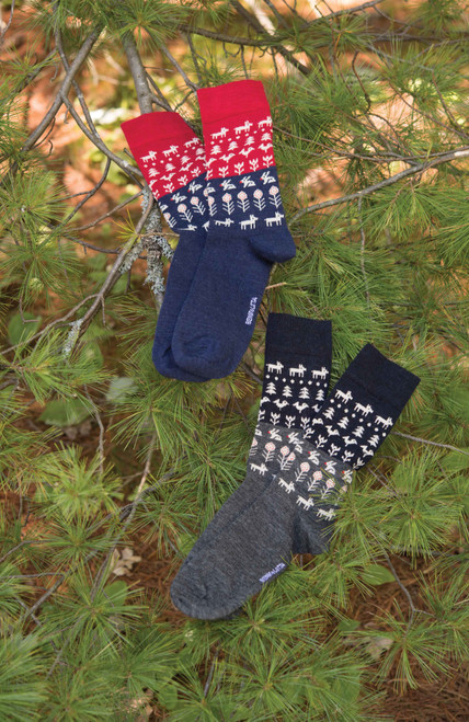 Swedish Merino Wool Nature Socks