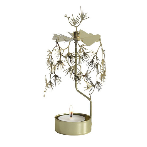 Rotary Candleholder - White Pines